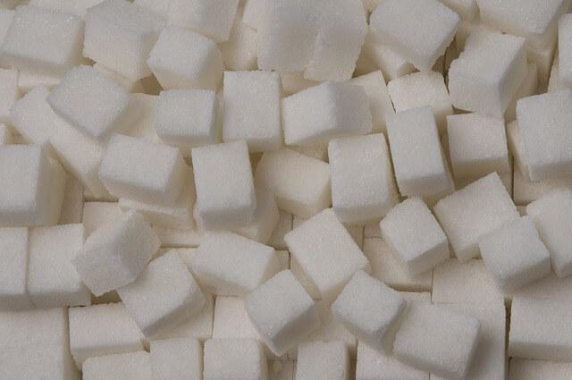 無数の角砂糖